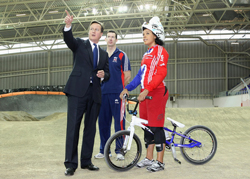 Road To 2012 British Cycling�s BMX Olympic Academy