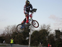 Laxey�s Colin Clague is BMX star in making
