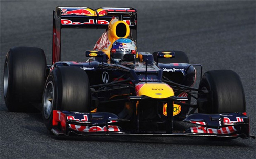 Vettel looks to capitalize on a blistering 2011 season in 2012