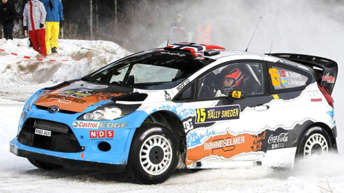 Østberg tears through the snow at Portugal