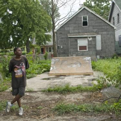 In Detroit, building a skateboard art park out of vacant homes and lots