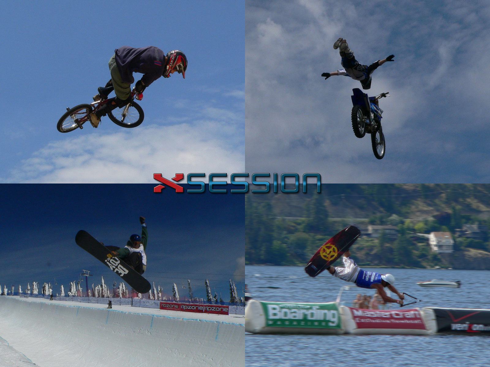 xsession - Extreme Sport Desktop Wallpaper